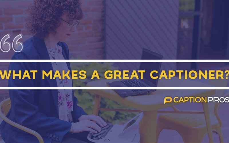 What makes a great captioner