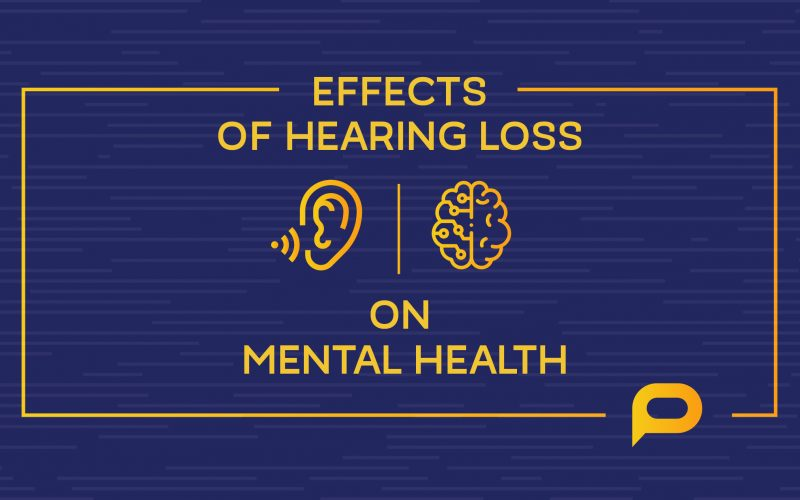 Effects of hearing loss on mental health
